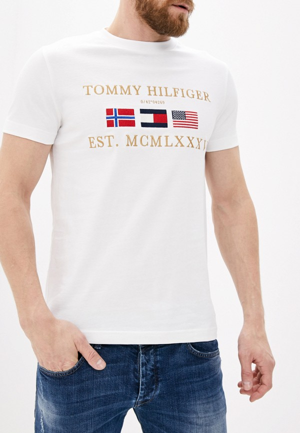 Футболка Tommy Hilfiger Tommy Hilfiger TO263EMHLCS2