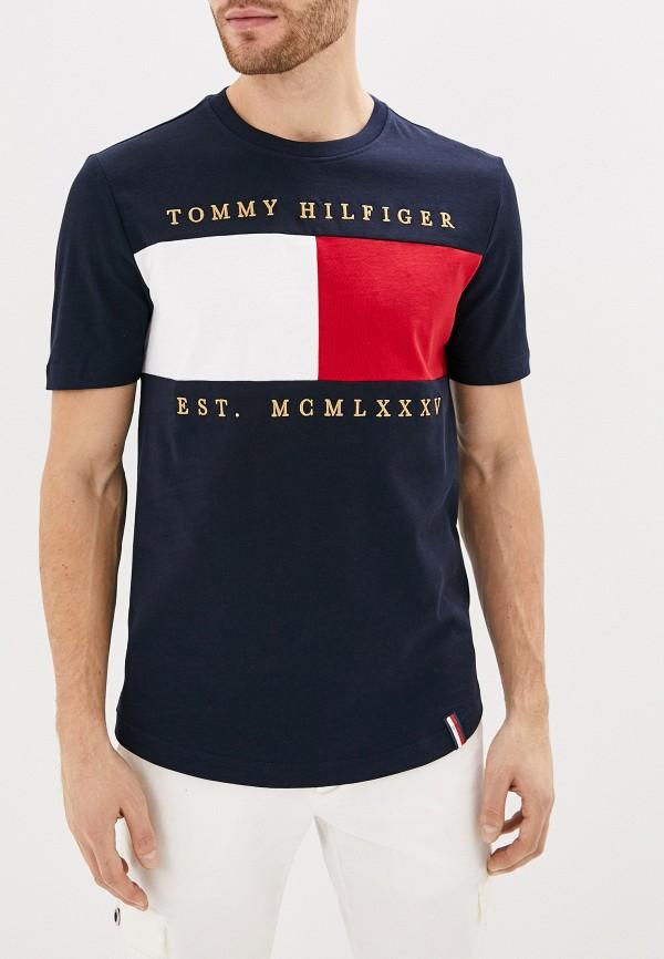 Футболка Tommy Hilfiger Tommy Hilfiger TO263EMHLCS3 футболка tommy hilfiger tommy hilfiger to263embhqg5