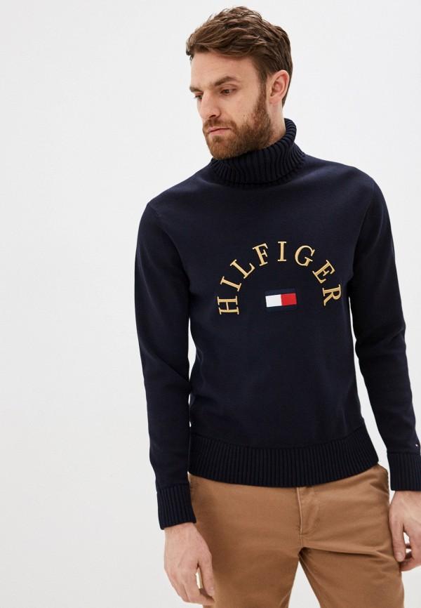 мужской свитер tommy hilfiger, синий