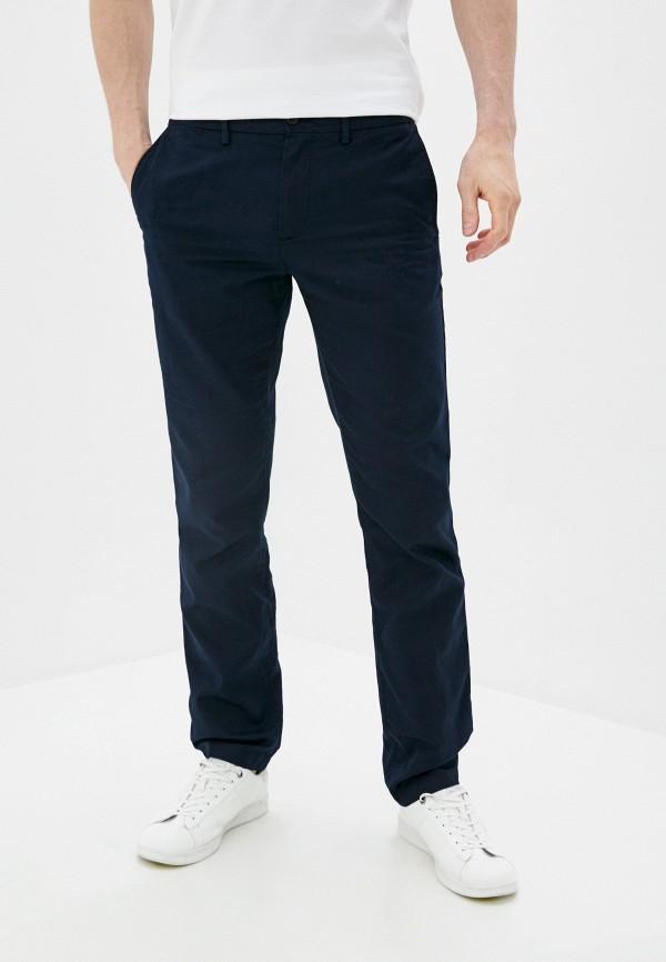 мужские прямые брюки tommy hilfiger, синие