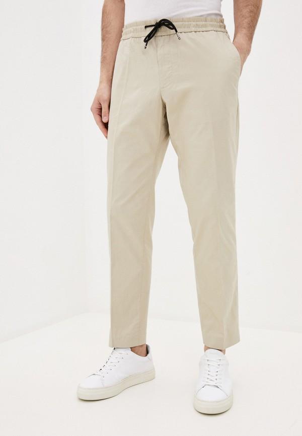 мужские повседневные брюки tommy hilfiger, бежевые