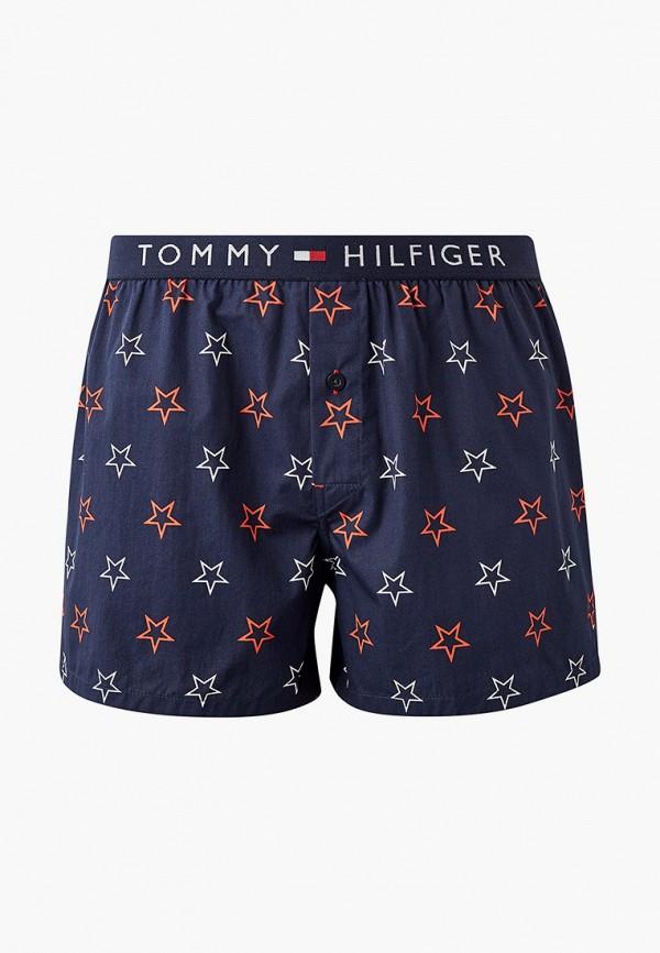 мужские трусы-шорты tommy hilfiger, синие