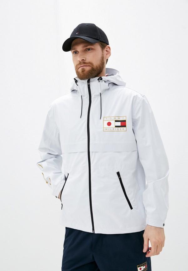 мужская куртка tommy hilfiger, белая