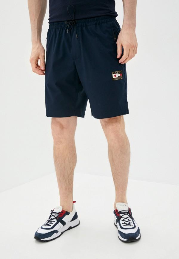 мужские спортивные шорты tommy hilfiger, синие