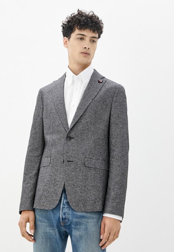 мужской пиджак tommy hilfiger, черный