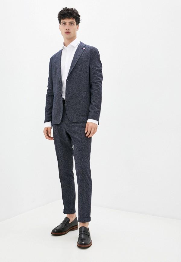 мужской классические костюм tommy hilfiger, синий