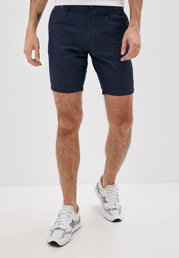 мужские джинсовые шорты tommy hilfiger, синие