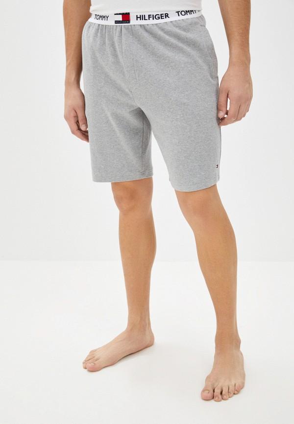 мужские шорты tommy hilfiger, серые