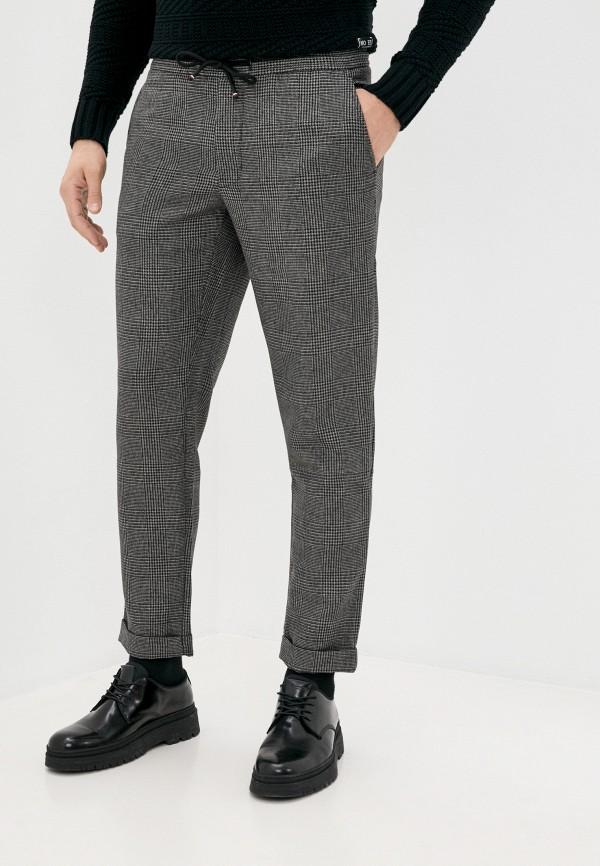 мужские брюки джоггеры tommy hilfiger, серые