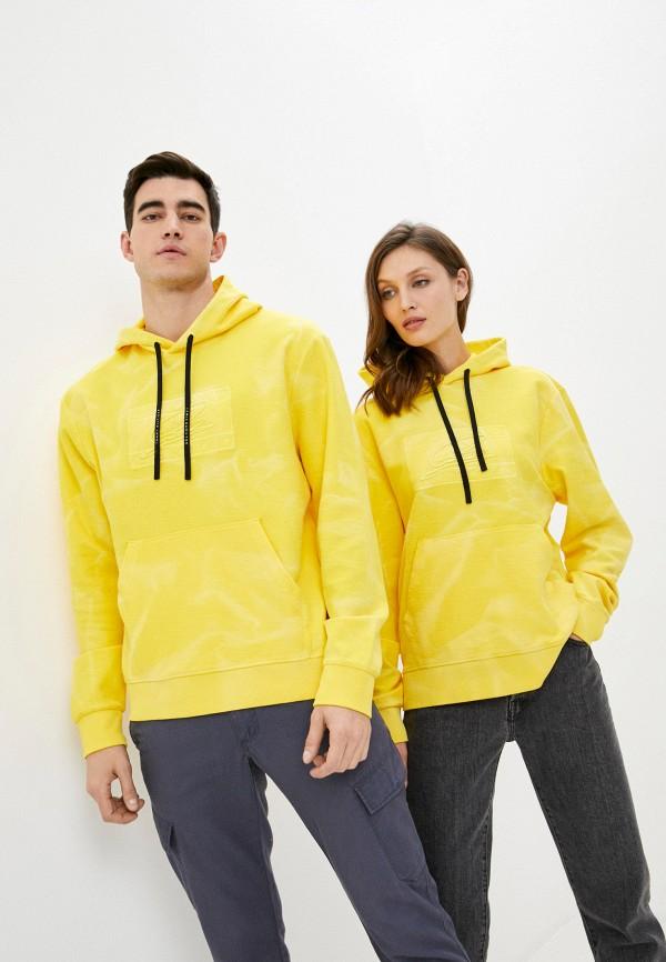 мужские худи tommy hilfiger, желтые