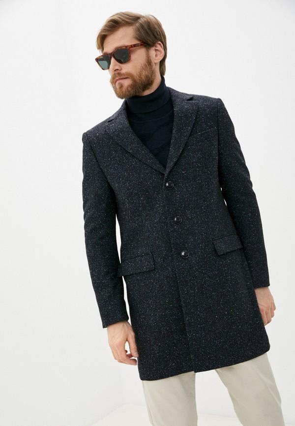 мужское пальто tommy hilfiger, синее
