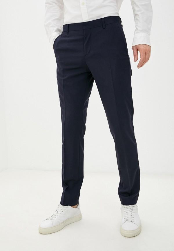 мужские классические брюки tommy hilfiger, синие