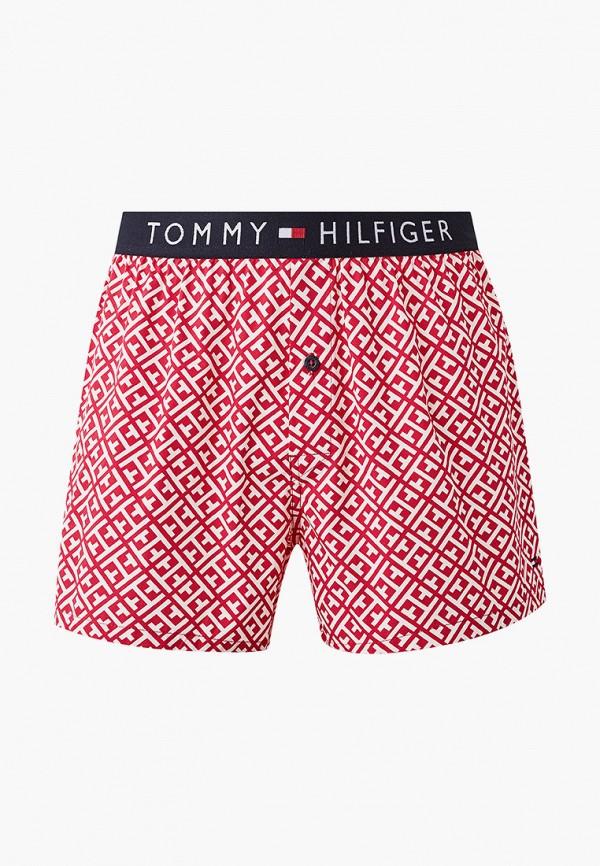 мужские трусы-шорты tommy hilfiger, розовые