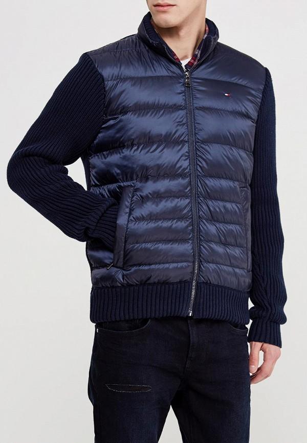 Купить Куртку утепленная Tommy Hilfiger синего цвета