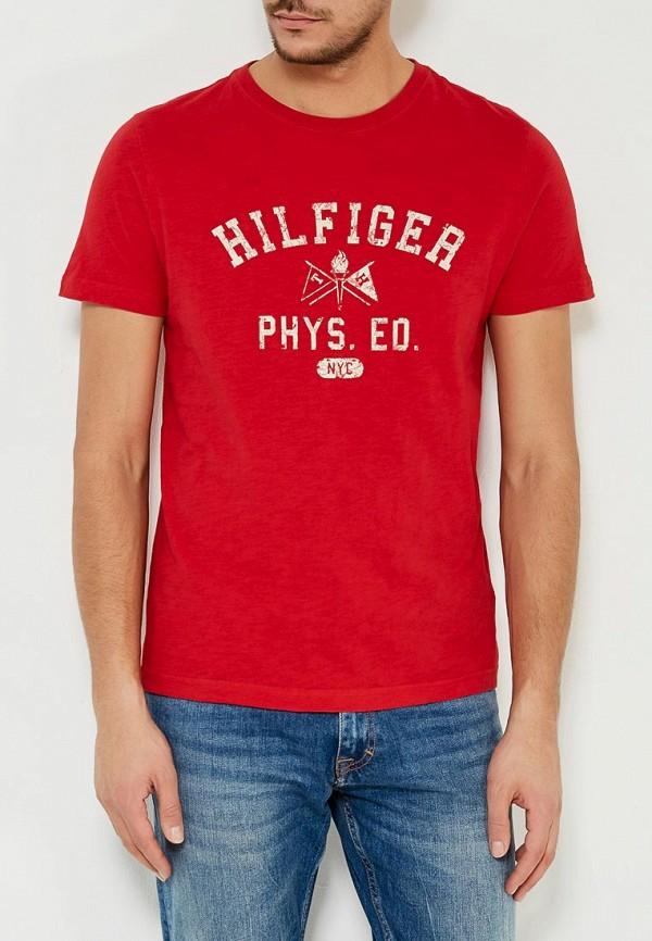 Футболка Tommy Hilfiger Tommy Hilfiger TO263EMYZX72 цены онлайн