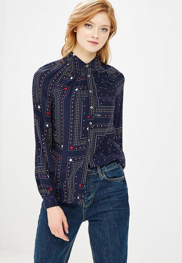 Блуза Tommy Hilfiger Tommy Hilfiger TO263EWAITN1 блуза tommy hilfiger ww0ww16824 116 penny floral prt snow white estate blu