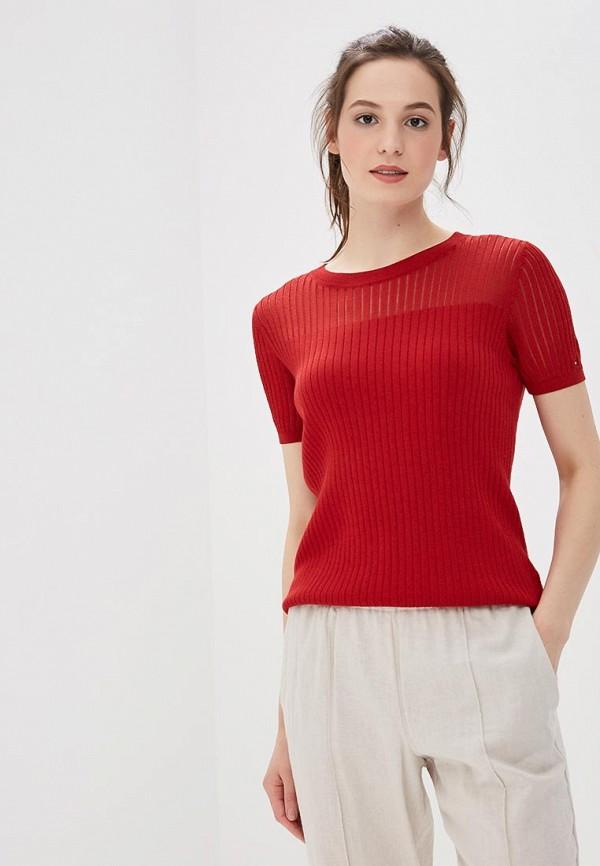 Купить Женский джемпер Tommy Hilfiger красного цвета