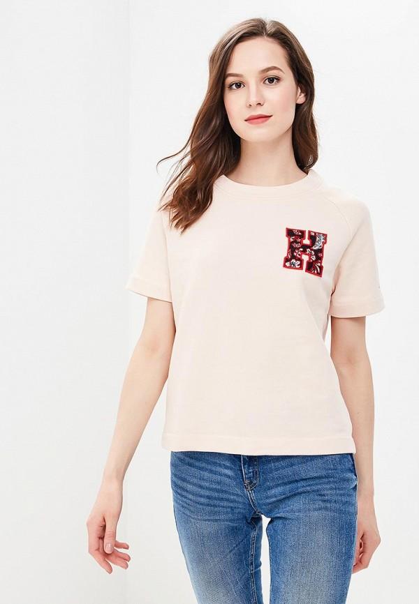Купить Свитшот Tommy Hilfiger розового цвета