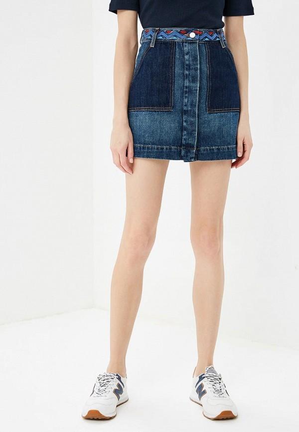 купить Юбка джинсовая Tommy Hilfiger Tommy Hilfiger TO263EWBICS3 по цене 11990 рублей