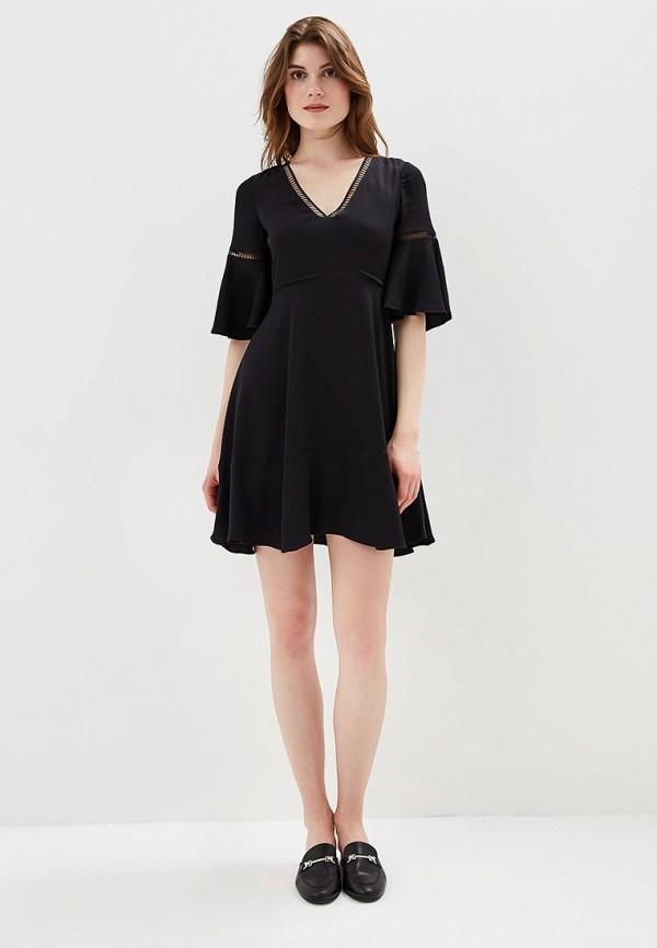 Фото 2 - женское вечернее платье Tommy Hilfiger черного цвета