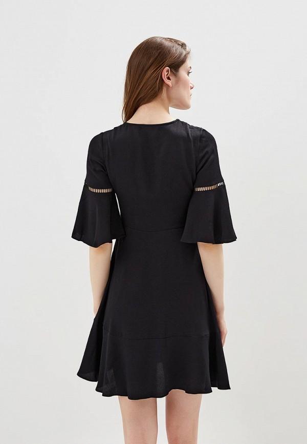 Фото 3 - женское вечернее платье Tommy Hilfiger черного цвета