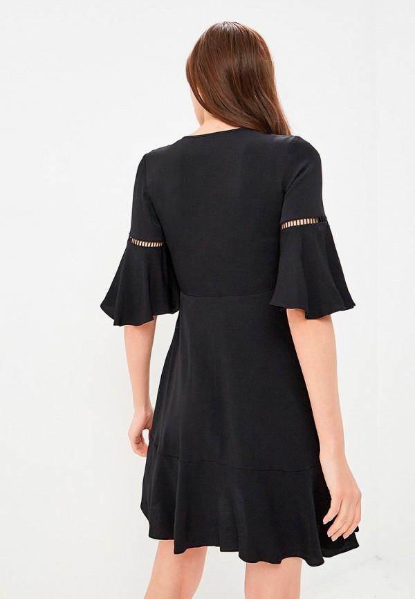 Фото 6 - женское вечернее платье Tommy Hilfiger черного цвета