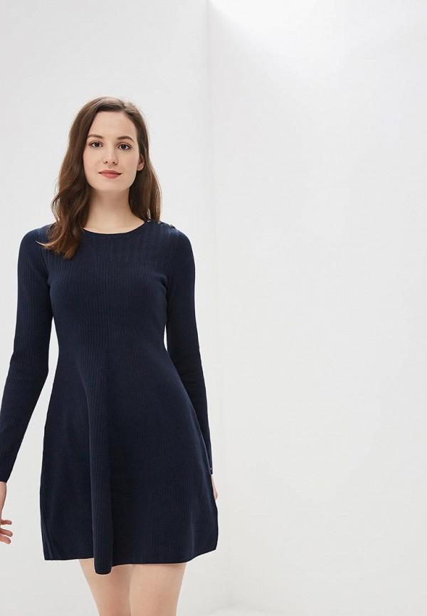 Купить Платье Tommy Hilfiger, to263ewbwke1, синий, Осень-зима 2018/2019