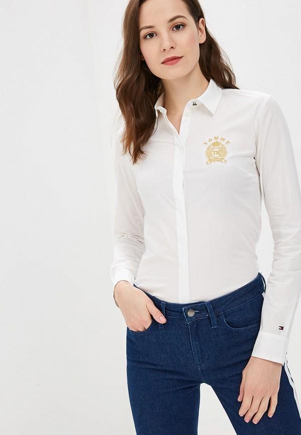 Купить Рубашка Tommy Hilfiger, to263ewbwkk1, белый, Осень-зима 2018/2019