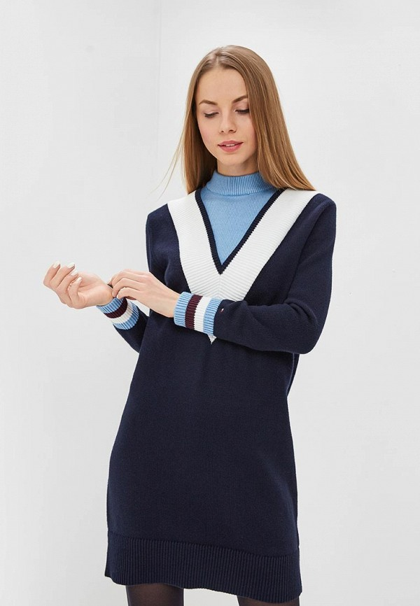 Платье Tommy Hilfiger Tommy Hilfiger TO263EWDDXJ1 платье tommy hilfiger tommy hilfiger to263ewejkn0