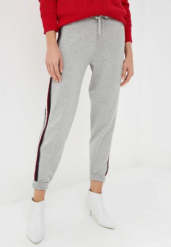 женские спортивные спортивные брюки tommy hilfiger, серые