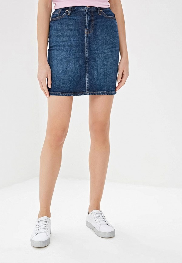 Юбка джинсовая Tommy Hilfiger Tommy Hilfiger TO263EWDDXQ9 tommy hilfiger джинсовая юбка