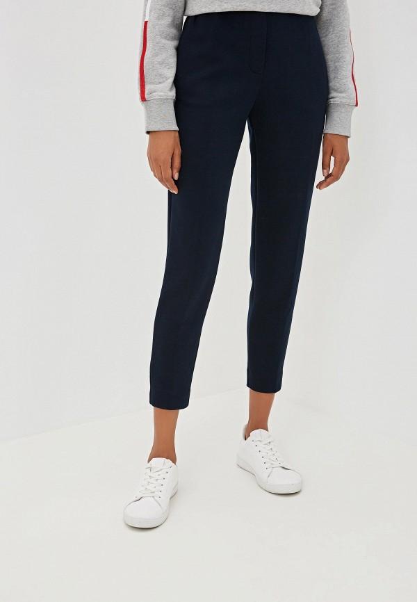 женские спортивные спортивные брюки tommy hilfiger, синие