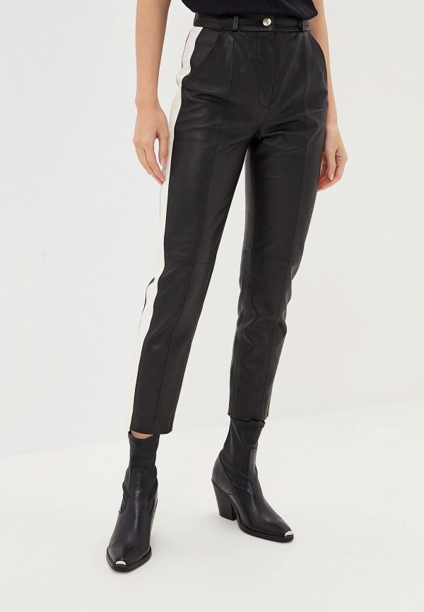 женские брюки tommy hilfiger, черные