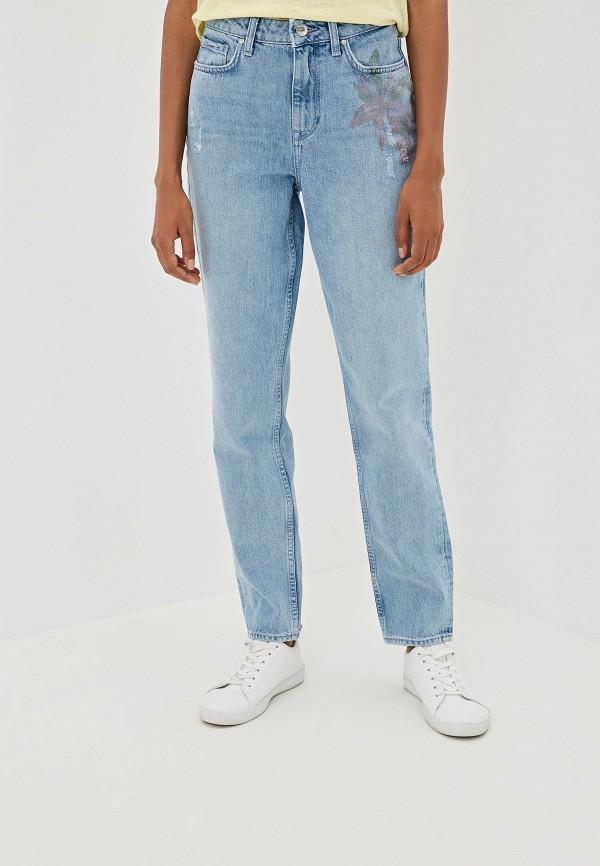 женские джинсы tommy hilfiger, голубые