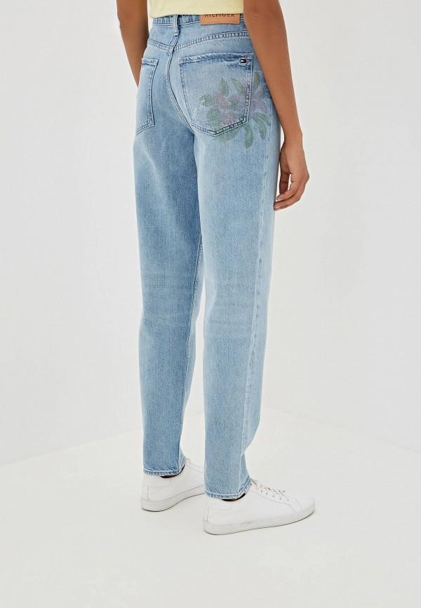Фото 3 - женские джинсы Tommy Hilfiger голубого цвета