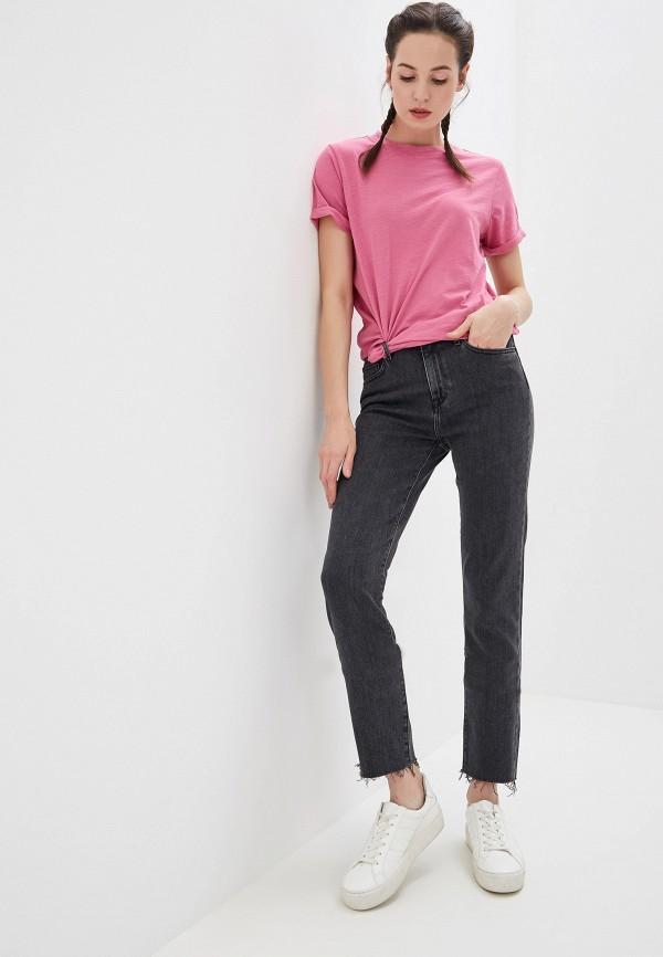 Фото 2 - женские джинсы Tommy Hilfiger серого цвета
