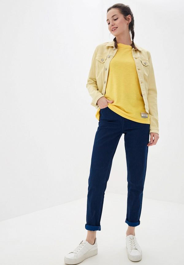 Фото 2 - женские джинсы Tommy Hilfiger синего цвета