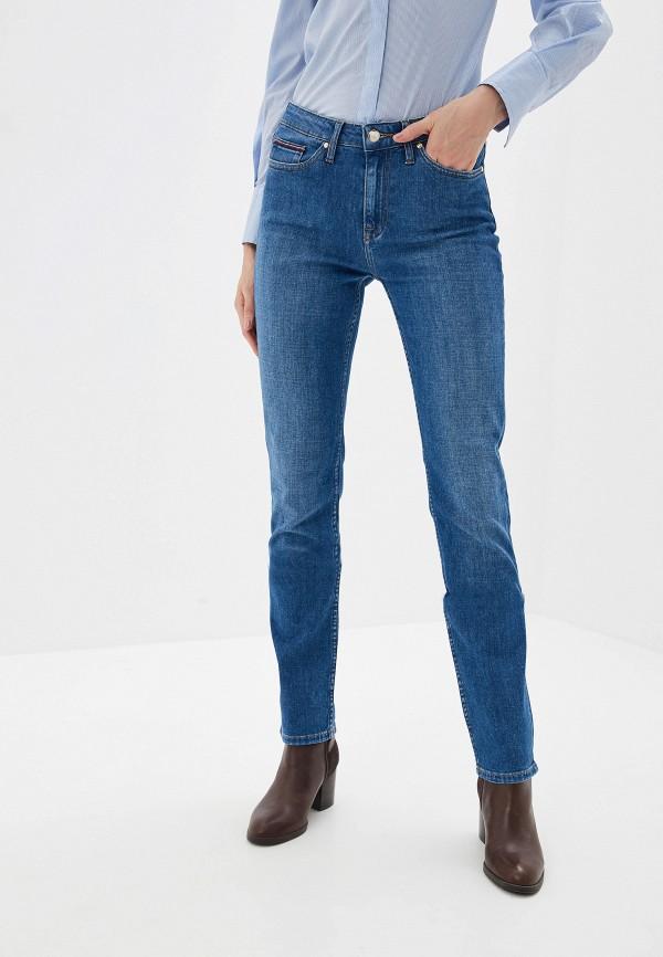 женские джинсы tommy hilfiger, синие