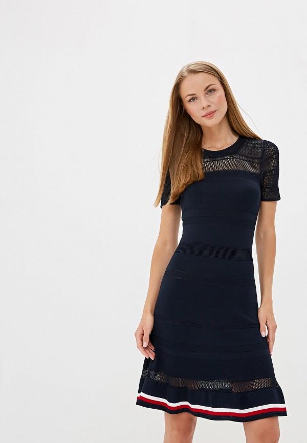 Платье Tommy Hilfiger Tommy Hilfiger TO263EWFFVY8 платье tommy hilfiger tommy hilfiger to263ewzfv45