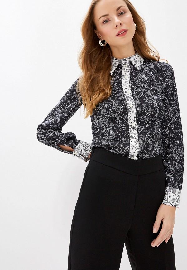 женская блузка tommy hilfiger, черная