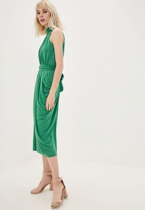 Фото 2 - женское платье Tommy Hilfiger зеленого цвета