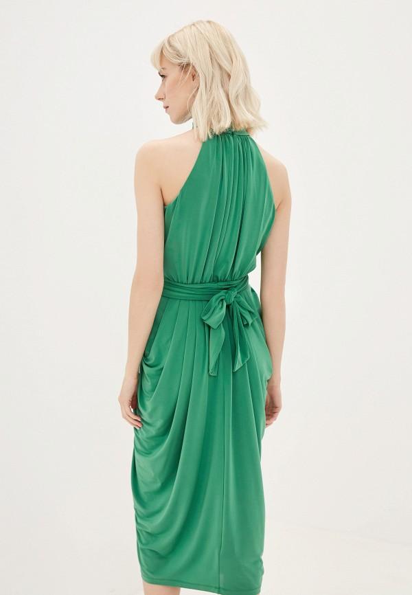 Фото 3 - женское платье Tommy Hilfiger зеленого цвета