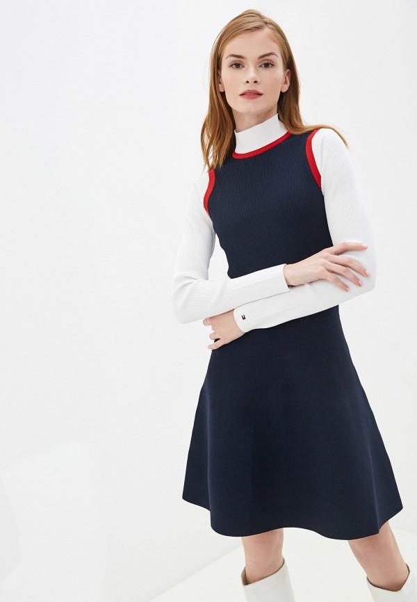 Платье Tommy Hilfiger Tommy Hilfiger TO263EWFXSN6 цена и фото