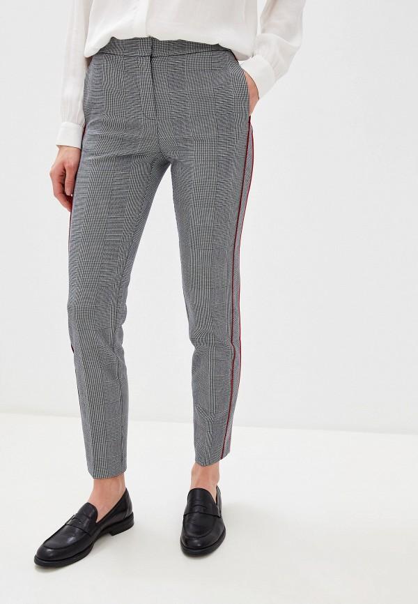 женские повседневные брюки tommy hilfiger, серые