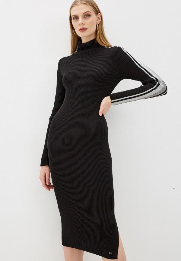 женское платье tommy hilfiger, черное