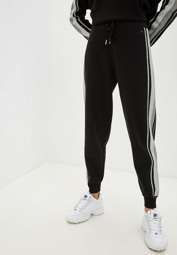 женские повседневные брюки tommy hilfiger, черные