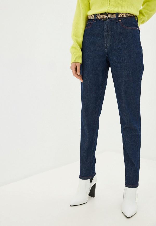 женские джинсы-мом tommy hilfiger, синие
