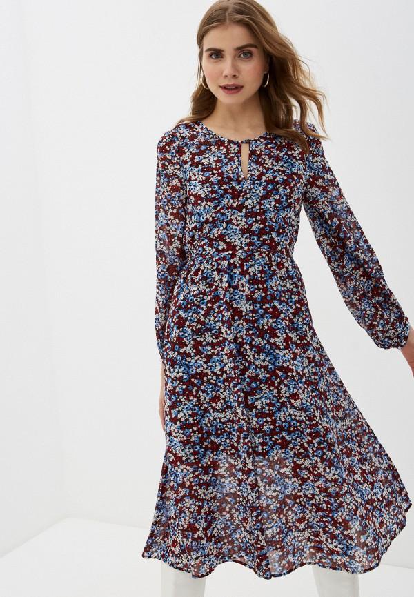 женское повседневные платье tommy hilfiger, разноцветное