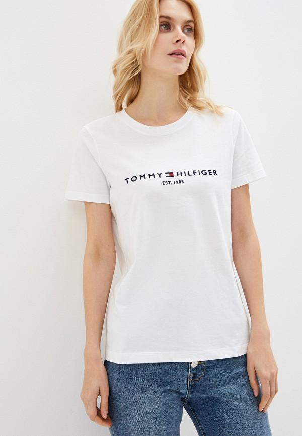 Футболка Tommy Hilfiger Tommy Hilfiger TO263EWHJPH1 футболка tommy hilfiger tommy hilfiger to263embhqg5