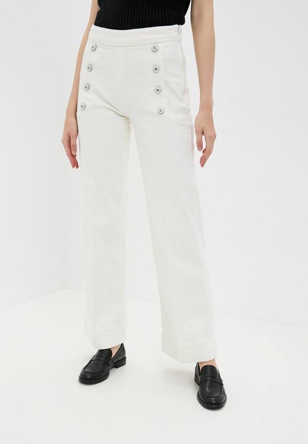 женские повседневные брюки tommy hilfiger, белые